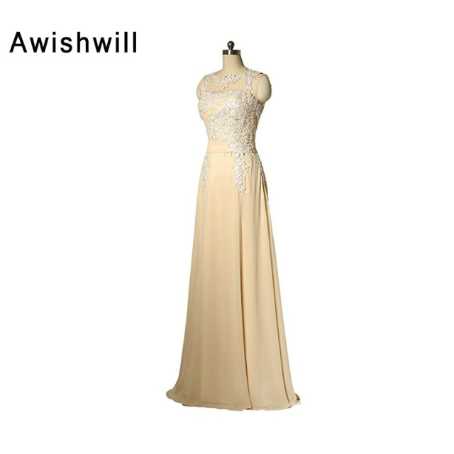 Plus Size Mother of the Bride Dress Champagne Color