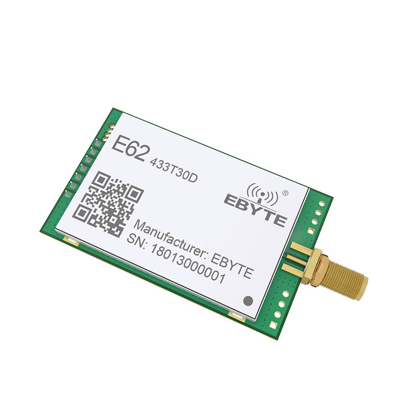 Image 4 - 1W Full Duplex TCXO 433MHz rf Module ebyte E62 433T30D Long Range Wireless Transceiver iot Transmitter and Receiver-in Fixed Wireless Terminals from Cellphones & Telecommunications