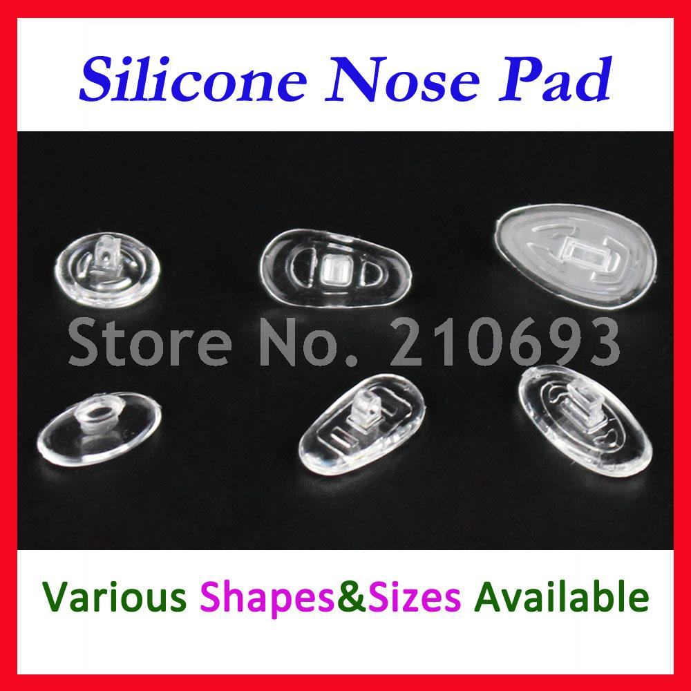 Eyewear Accessories Learned Free Shipping Glasses Nose Pads Case Eyeglass Nose Pads Kit Including 15 Kinds Of Silicone Nose Pads