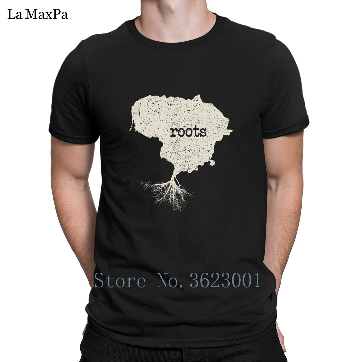 Character Comical T-Shirt Lithuania Vintage Native Roots Men Tshirt 2018 Tee Shirt For Men Branded T Shirt Mens 100% Cotton Gift