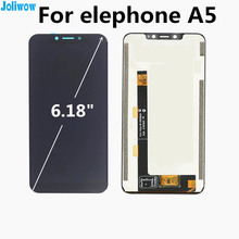 FOR elephone A5 LCD Display+Touch Screen Digitizer Assembly Replacement Accessories For phone FOR elephone A 5 LCD for elephone p8 mini 5 lcd display touch screen tablet screen for elephone p8 mini lcd monitor repair kit free shipping
