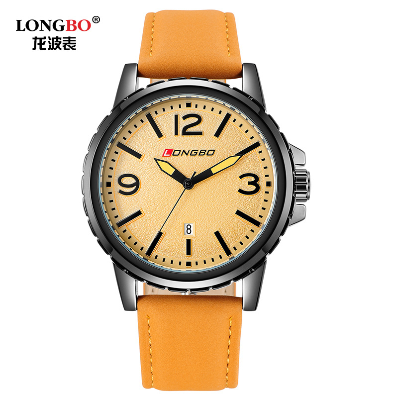 2016 Relogio Masculino Fashion Men Sports Watches LONGBO Brand Luxury Men Watch Waterproof Casual Quartz Wrist Watch LB80182G 2017 montessori education baby wood knocking ball ladder pound and roll tower kids puzzle early educational wooden toys set mz23