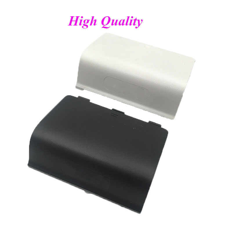 100PCS High Quality Black Battery Cover Door for XBox One Wireless Controller Black Side Lid Cover