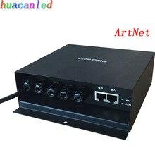 Artnet контроллер, LED контроллер поддержка протокола artnet, 4 вселенных, работа с Madrix, управлять максимум 4096 пикселей