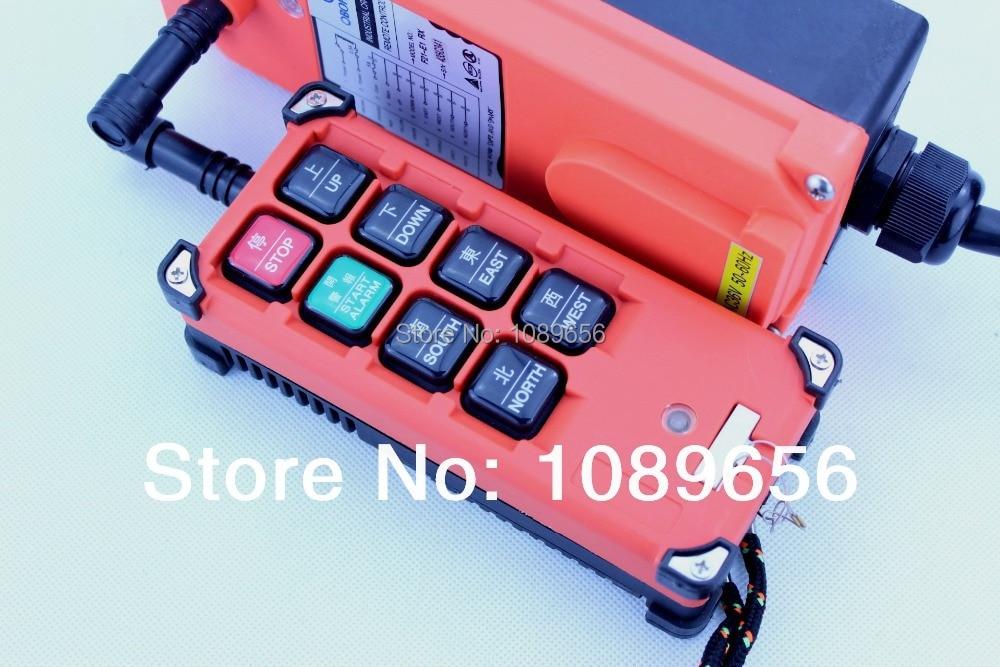 F21 E1B 220VAC 8 Channels Industrial Remote Controller switch Hoist Crane 1 Transmitter 1 Receiver