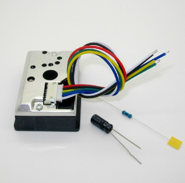 GP2Y1014AU Dust Sensor Module PM2.5 Dust Sensor Replaces GP2Y1010AU0F