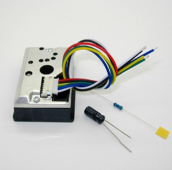 GP2Y1014AU Dust Sensor Module PM2.5 Dust Sensor Replaces GP2Y1010AU0F