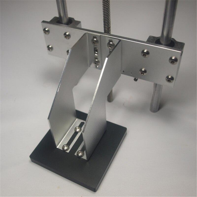 1 kit de plate-forme de construction d'axe Z pour bricolage UV resion DLP/SLA bras de support de plaque de construction d'imprimante 3D + écrou TR8 delrin livraison rapide