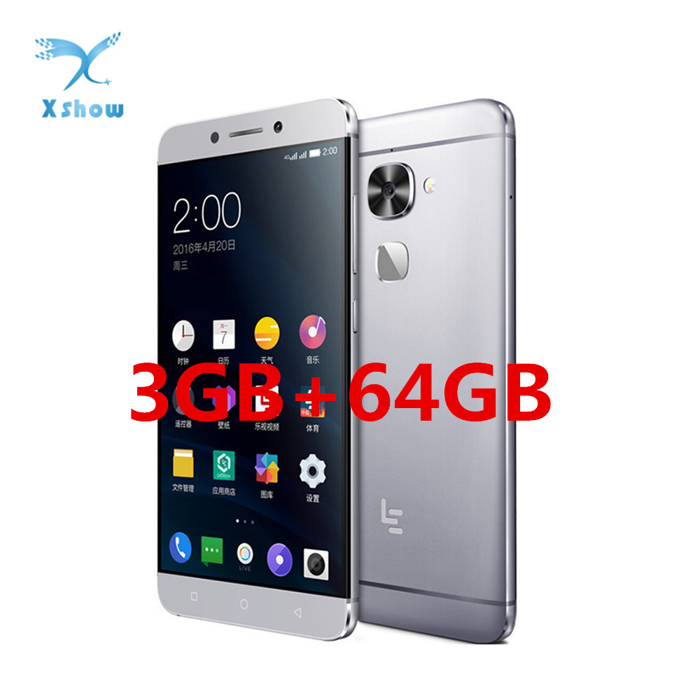 Original LeEco LeTV Le X526 Mobile phone Snapdragon 652 3GB RAM 64GB ROM 1 8GHz Octa