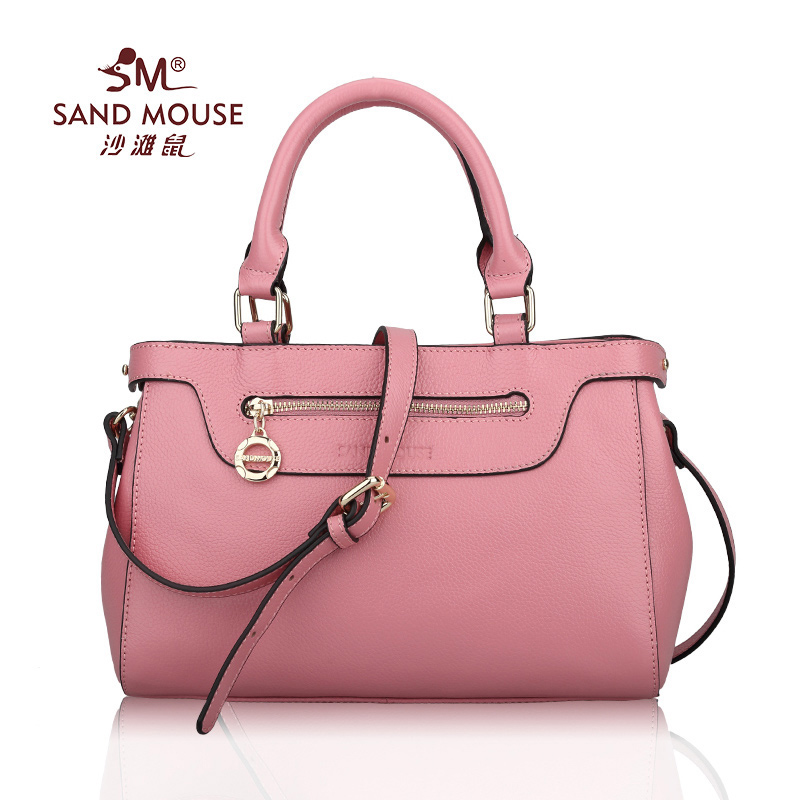 SAND MOUSE 2017 New Fashion Women Beach Handbag Lady Totes Clutch Bags Feamle Shoulder Crossbody Bags Genuine Leather Handle Bag