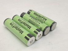 MasterFire 20PCS/LOT Protected Original 18650 NCR18650B 3.7V 3400mAh Rechargeable Lithium Battery For Panasonic with PCB