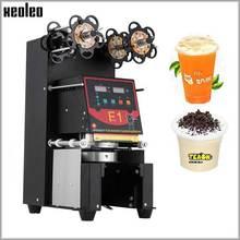 цены на Xeoleo Cup sealer Cup sealing machine White/Black/Golden for 95mm/98mm PP/PET/Paper cups/Bowls Customized 220V/110V US/UK/EU/AU  в интернет-магазинах
