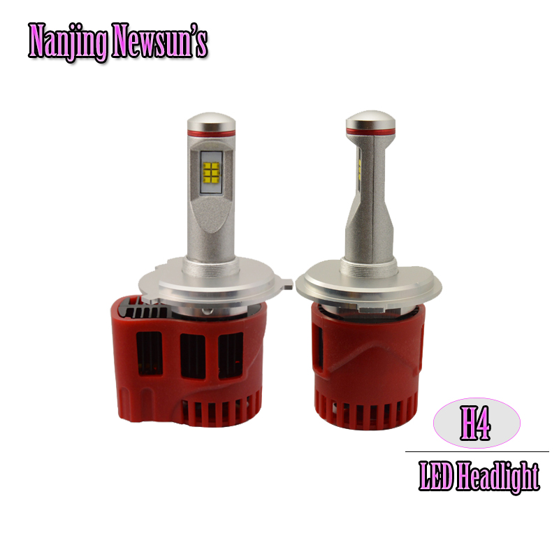 1Set H4/9003/HB2 45W 4000K 6000K Led Headlight Bulbs Auto Car Front Headlight Replacement Bulbs Lamp Car Styling DC 12