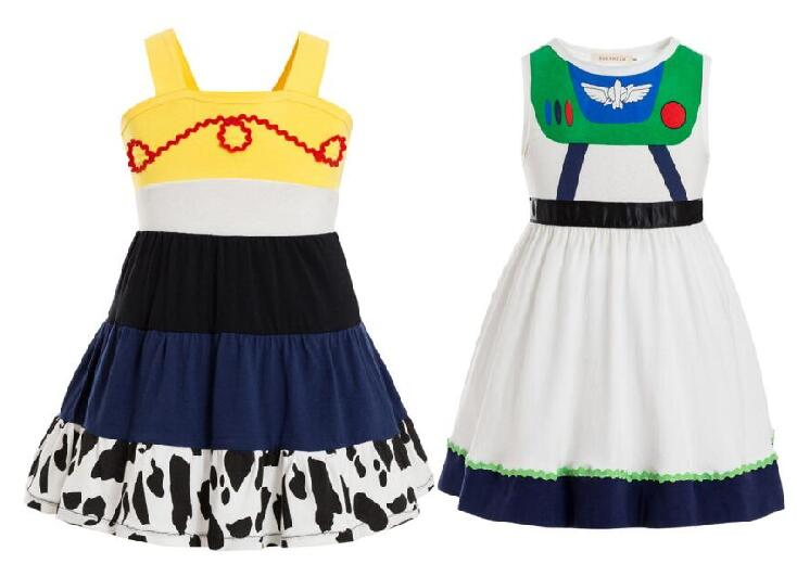 buzz lightyear Juniors Costume Tunic Tank Dress Jessie Toy Story3 Child Deluxe Costume birthday dress party supplier hallow tutu toy story and beyond jessie costume toy story3 child buzz costume cowgirl toy story jessie tunic tank dress toddler dresses