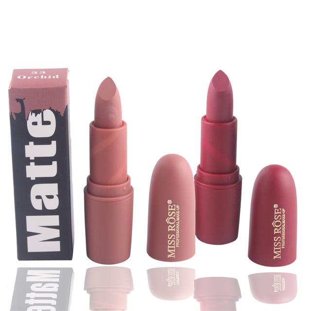 Long-lasting Matte and Waterproof Lipstick Set