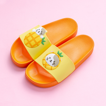 Cartoon Bear Rabbit Slides Women Summer Slippers Fruits Strawberry Banana Panda Home Slippers Sandals Women Shoes Flip Flops 4