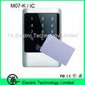M07-k IP68 биометрические автономный контроля доступа с клавиатурой IC MF карты двери системы контроля доступа без программного обеспечения
