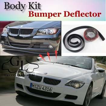 For BMW 6 M6 E24 E63 E64 F12 F13 F06 Bumper Lip Lips / GOOD LUCK SHOP Spoiler For Car Tuning / TOPGEAR Suggest Body Kit + Strip image