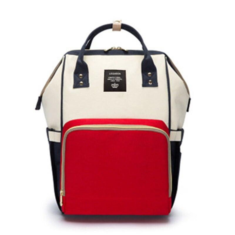 HTB18D9MoKOSBuNjy0Fdq6zDnVXab 23 Colors Fashion Mummy Maternity Nappy Bag Large Capacity Baby Diaper Bag Travel Backpack Designer Nursing Bag for Baby Care