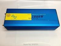 2000W Pure Sine Wave Inverter 2000W Solar Inverter 12V 24V 48V DC To 100V 110V 220V
