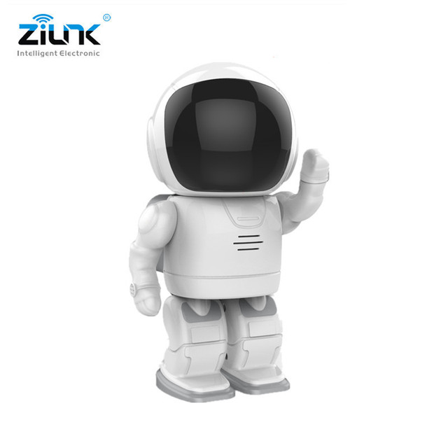 ZILNK IP Camera Robot 960P HD WIFI Wireless PTZ Two Way Audio P2P Onvif Night Vision Network Baby Monitor Security Camera