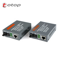 10/100Mbps Ethernet to Fiber Optic Media Converters for IP camera, Singlemode Sinlge fiber ,Working distance 25Km