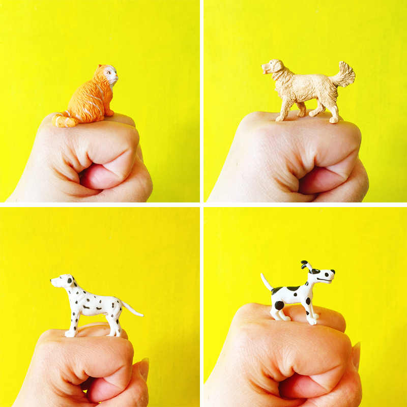 1Pcs/miniatures dogs /cute/lovely puppy/fairy garden gnome/terrarium /home decoration/resin crafts/farm animals/toy/model