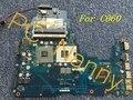 Para TOSHIBA Satellite C660 K000112420 LA-6841P GL40 laptop motherboard DDR3 integrado de trabalho muito bem