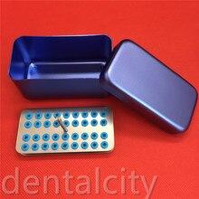 Подробная информация о стоматологических 36 держателей 2,35 мм FG ra hp Burs оправки дезинфекционный блок стерилизатор