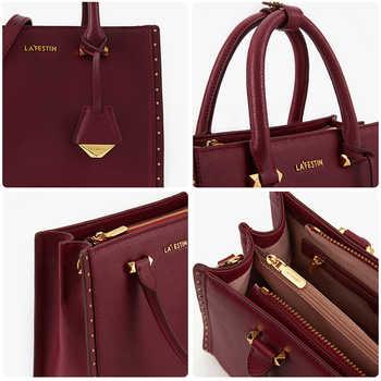 LA FESTIN 2018 New Women Handbag Leather Tote Handbags Luxury Multifunctional Versatile Bag Ladies Luxury Handbags Designer Bag