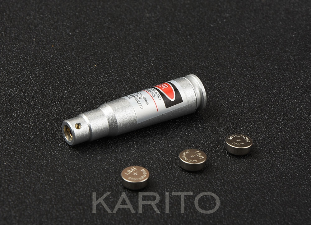 Cal: 7.62 x 39 mm Red Dot Laser Aluminium alloy Boresight CAL Cartridge Bore Sighter For Scope Hunting M9927