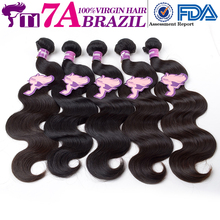 T1 7A Brazilian Virgin Hair 5 Bundles Natural Wave Human Hair Brazilian Hair Weave Bundles Cheap Big Brazilian Wave Virgin Hair