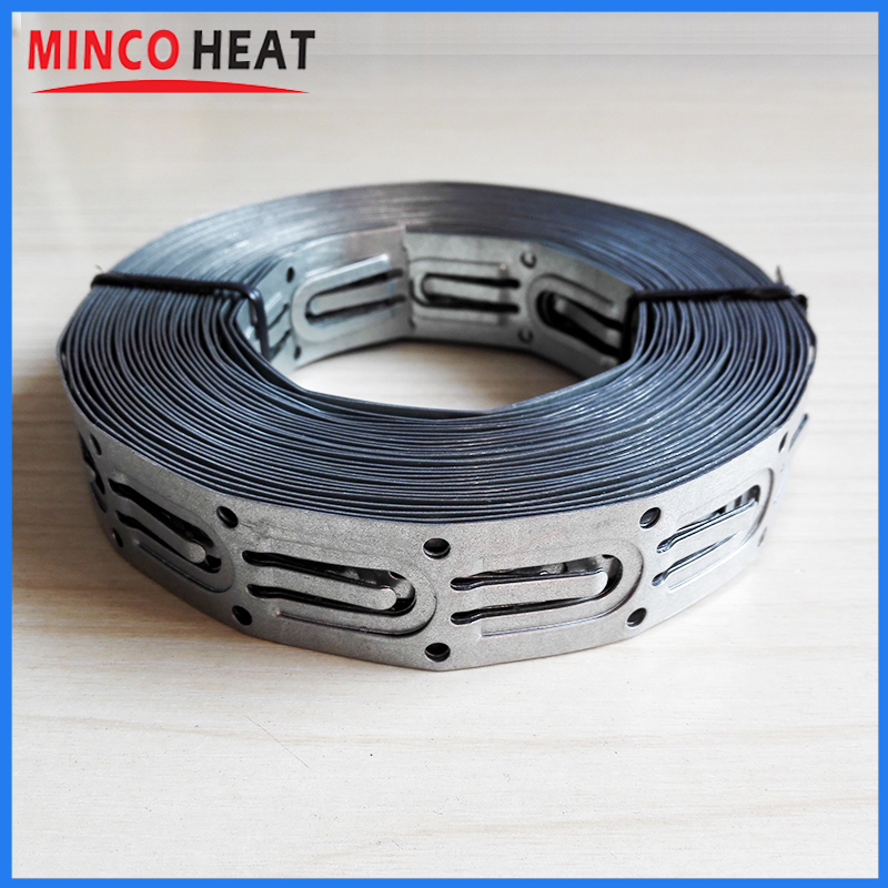 7.6m High Quality Metal Floor Heating Cable Straps, Underfloor Heating  System Cable Clamps For Floor, Roof And Gutter Heating