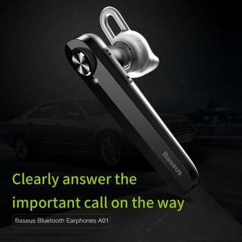Baseus Encok solo en la oreja los auriculares de Metal bajo pesado la calidad de sonido de música mini auricular bluetooth fone de ouvido sem fio
