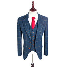 Tuxedos Custom Made Men Prom Suit Blazers Retro For Men
