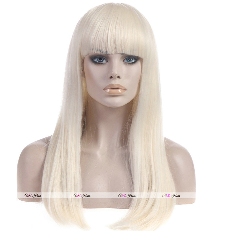 Hair Wigs For 60 Years Age Or Human Hair Wigs For Women