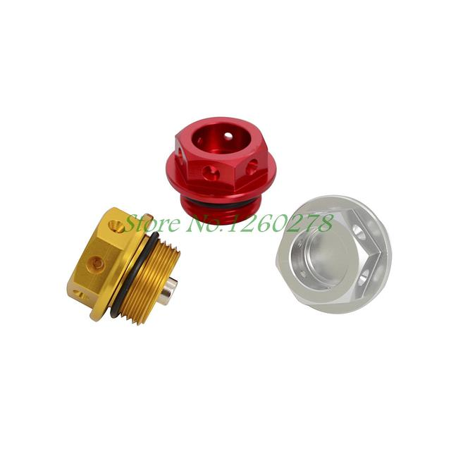 CNC Aluminum Magnetic Oil Drain Plug M22 x 1.5 22mm x 1.5 For Motorcycle and Car