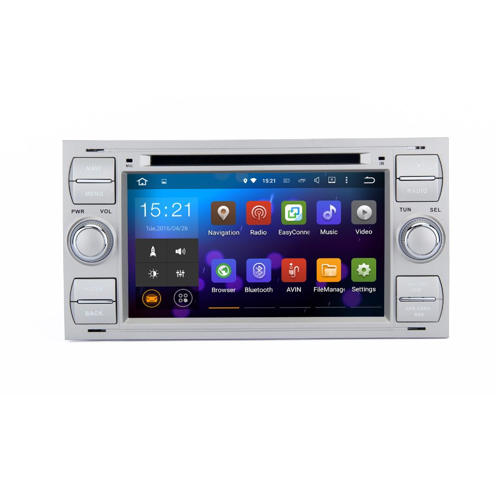 2 din android 5 1 1 car dvd for galaxy s max fusion fiesta kuga