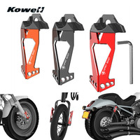 KOWELL Universal Motorcycle Front Rear Back Shock Absorber Decorative Parts Spring Buffer Damping Bumper Power Cushion