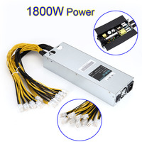 New Universal 1800W 93 Power Supply Connectors 6 PIN X 10 Pcs For Antminer S7 S9