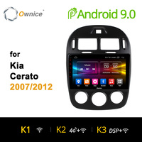 Ownice K1 K2 K3 Octa Core android 9,0 dvd-навигации мультимедиа для kia cerato 2007-2012 gps 2G Оперативная память 32G Встроенная память 4G LTE carplay