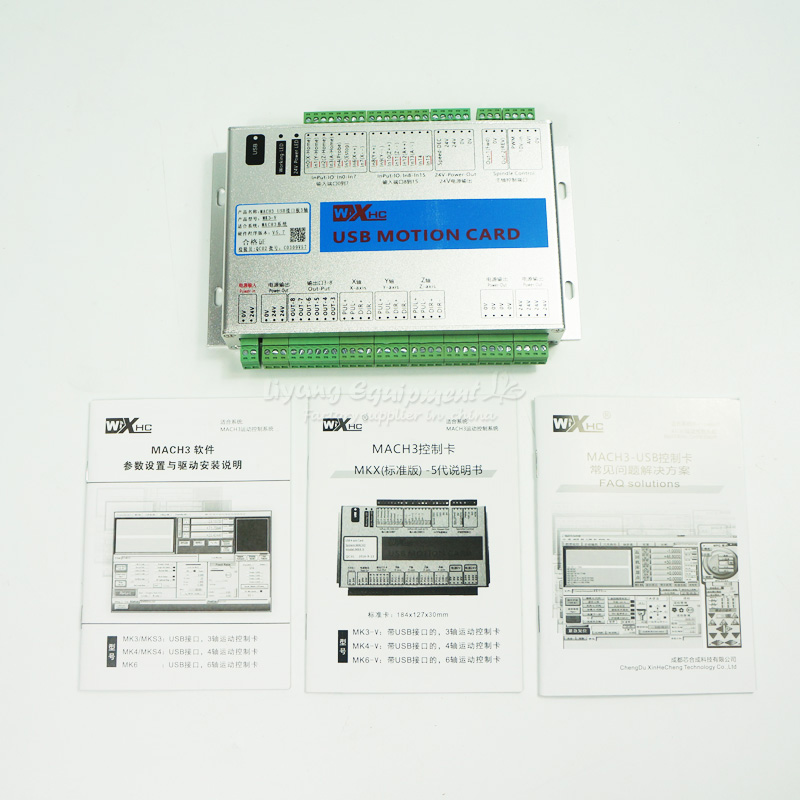 3 Axis USB CNC Motion Control Card,  Mach3 Breakout Board for cnc router cnc part mach3 usb motion controller card breakout board for cnc engraving 4 axis 100khz