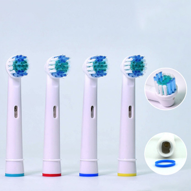 4x Replacement Toothbrush Heads For Oral B SB-17A Soft Bristle Sonicare Electric Toothbrush Head Fit 3D Vitality Clean/Sensitive image