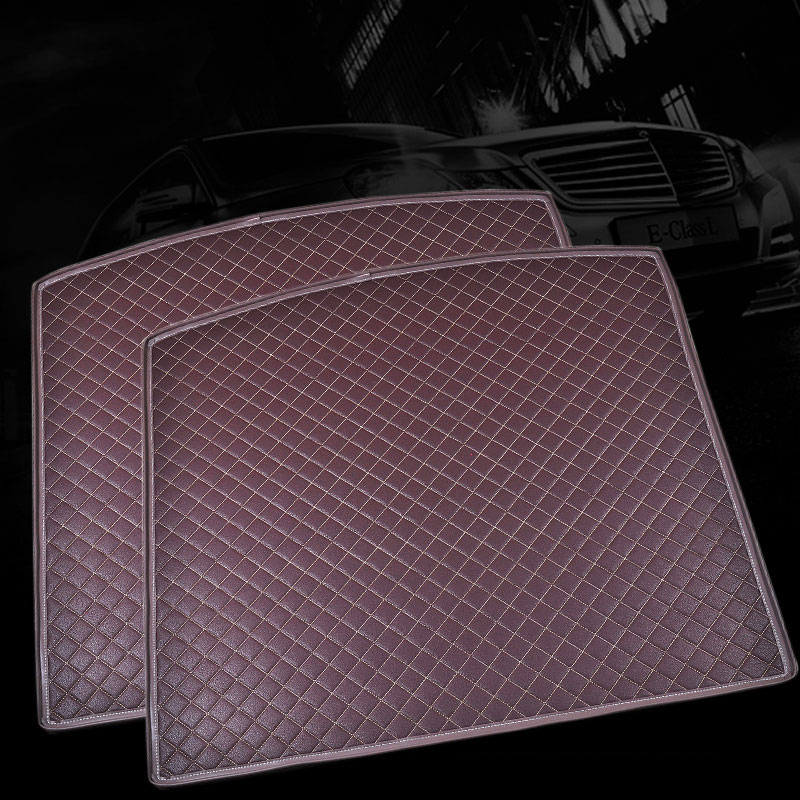 Custom fit car trunk mat for Mitsubishi Lancer Galant ASX Pajero sport V93 3D car styling all weather tray carpet cargo liner custom fit car trunk mat for nissan altima rouge x trail murano sylphy versa tiida 3d car styling tray carpet cargo liner