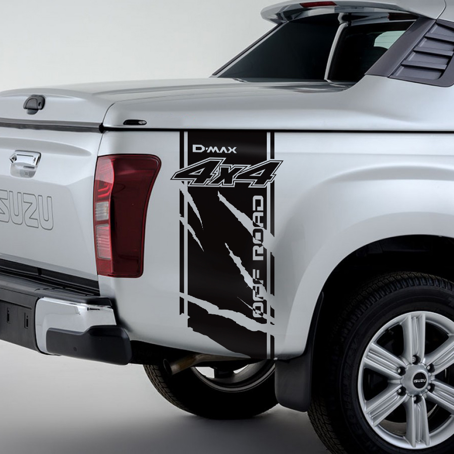 """4x4 Off Road Truck Jeep or Suv Fender Decal Bed Stripe Sticker Set 10/""""x40/"""""""
