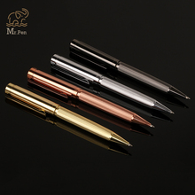 High Quality Metal Ballpoint Pen Roller Pen Black Ink Refill Pen for Business Writing Tool Office School Supplies Promotion Gift germany duke black ink medium refill ballpoint pen women writing roller ball pen with an original box office and school supplies