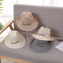 XCZJ Summer Beach Hat Women Panama Straw Caps Wide Brim Visors Casual Hats Lady Brand Hand Made Sun Flat Gorras H105