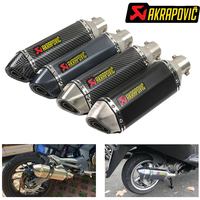 #31 Akrapovic Motorcycle exhaust for honda cr125 lead 110 ax 1 cb 1 crf450x zoomer cb600f cbr1100 xx wave 125 dio af34 grom x11
