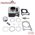 Cilindro kit de aros de pistón junta bujía para yamaha ttr 125 TTR125 TTR-125 2000-2005 Motor ATV Quad Dirt Bike Pit parte