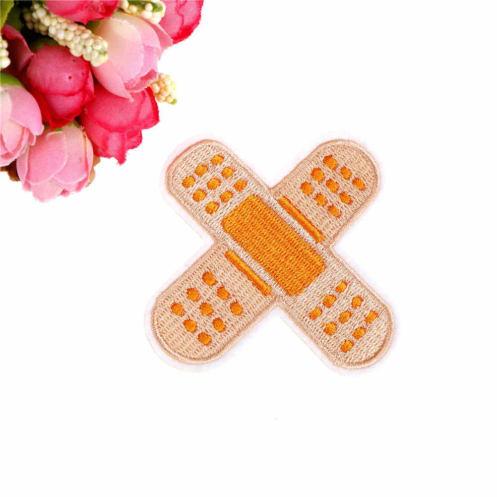 1pc Parches Embroidery Iron on Patches for Clothing DIY Stripes Clothes Stickers Appliques brand new